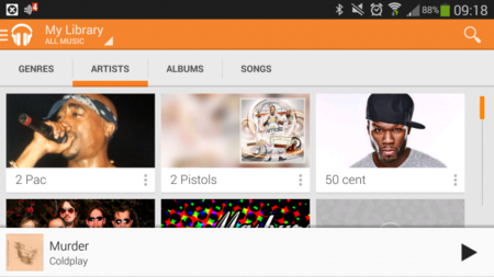 Google Play Music All access, análisis