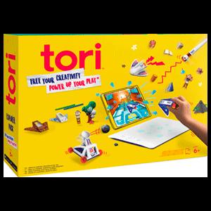 Tori Explorer Pack combina la realidad aumentada con juguetes, a través de un smartphone o tablet