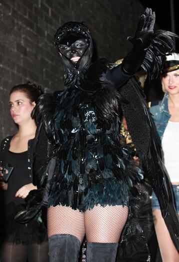 Los mejores disfraces Halloween 2009 de las celebrities