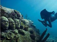 Guatemala: Esculturas artísticas bajo el agua