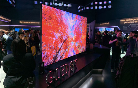 La gama de televisores Samsung QLED 8K llegará en tamaños de hasta 98 pulgadas