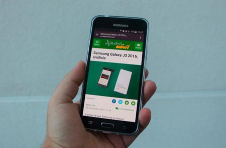 Samsung Galaxy J3 2016, análisis: buena autonomía y poco más