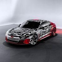 El Audi GT e-tron se deja ver: así es el A7 Sportback eléctrico, primo del Porsche Taycan