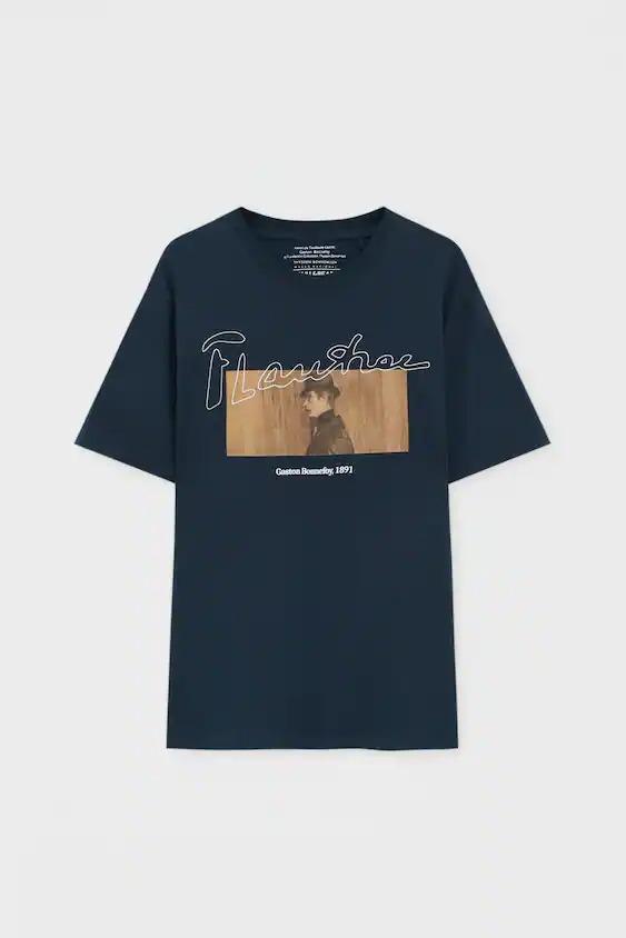 Camiseta negra Henri de Toulouse-Lautrec - Gaston Bonnefoy (1891)