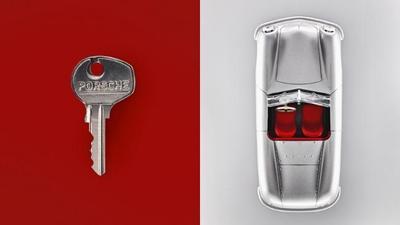 La evolución de las llaves Porsche en ocho imágenes