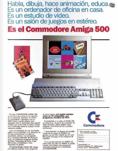 Amiga 500 publi