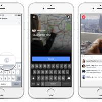 Usuarios de Facebook en Estados Unidos ya pueden transmitir video en vivo desde su iPhone