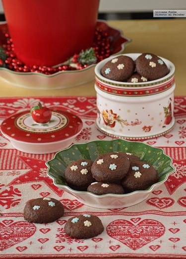 Galletas de chocolate de Nigella. Receta de Navidad