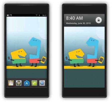 Las primeras imágenes de MeeGo para teléfonos móviles