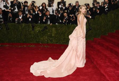 Taylor Swift oscar de la renta met 2014