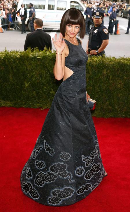 Katie Holmes Met Gala 2015 vestido