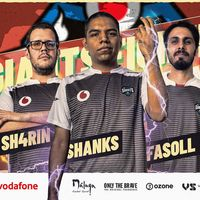 Vodafone Giants se adentra en los Fighting Games con Sh4rin, Fas0ll y Shanks