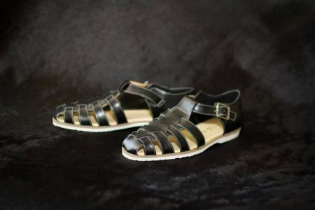 Cricket & Pancho leather sandals