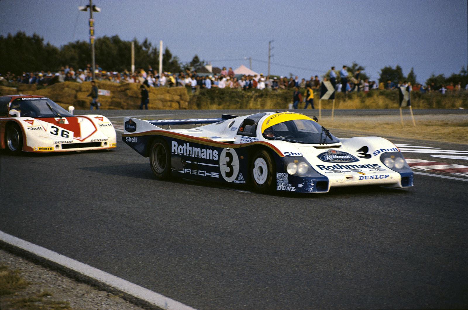 Foto de Campeones Porsche en Le Mans (8/28)