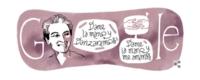 Google rinde homenaje en su doodle de hoy a la gran Gabriela Mistral