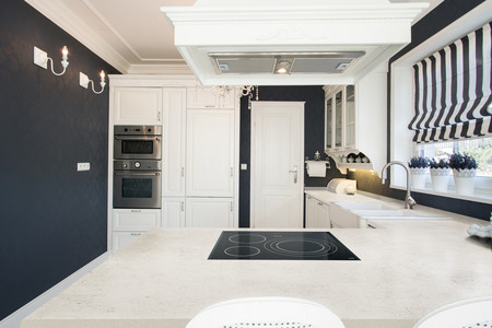 Dekton Kitchen Blanc Concrete
