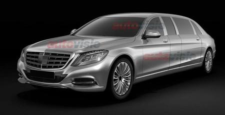 ¿Para cuándo el Mercedes-Benz Clase S Pullman?
