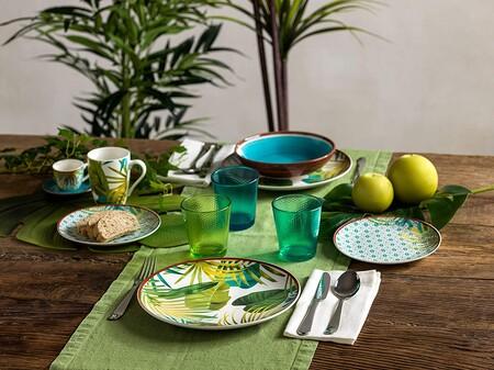 Renueva tu vajilla con estos juegos de platos de porcelana que encontramos desde 34 euros