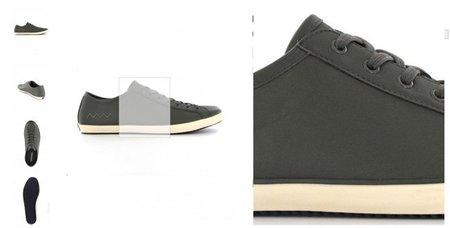 Detalle de zapato en Medwinds
