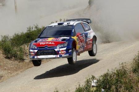 Rally de Portugal 2010: Sébastien Ogier vuela y sigue liderando
