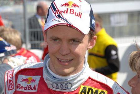 Mattias Ekström se parte una muñeca pero llegará a tiempo al comienzo de la temporada del DTM