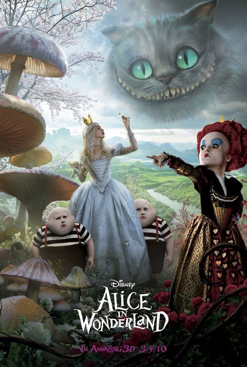 Foto de 'Alicia en el país de las maravillas', tres nuevos carteles (1/3)