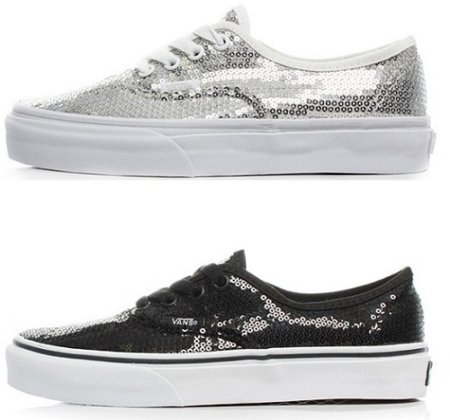 Zapatillas Vans Authentic Glitter Dot