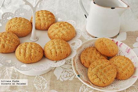 Receta de galletas de azúcar moreno y coco al aroma de azahar y coco