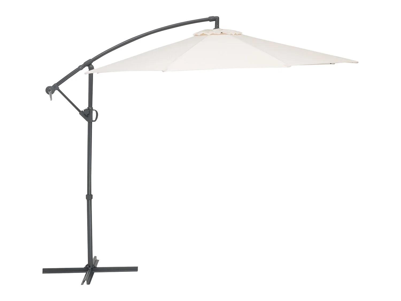 Parasol redondo con brazo