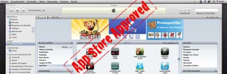 App Store compatible con iPhone OS 3.0
