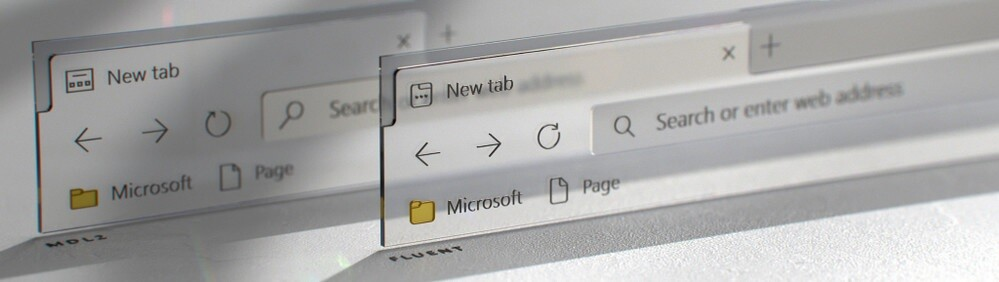 These are the new icons with a Fluent Design touch that Microsoft will launch for the new Chromium-based Edge
