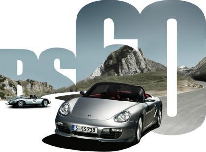 Porsche Boxster RS 60 Spider, edición limitada conmemorativa