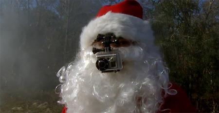 Así se las gasta Santa Claus antes de su gran noche