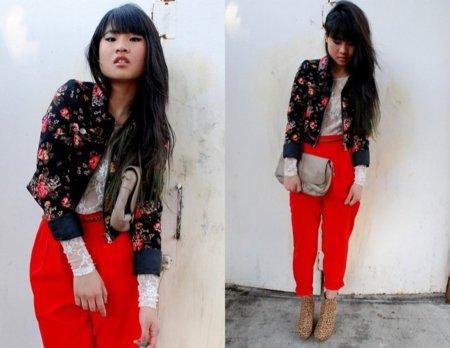 Pantalones rojo