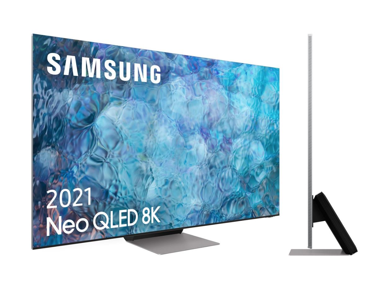 "TV QLED 163 cm (65"") Samsung QE65QN900A Procesador Neo QLED 8K con Inteligencia Artificial, Smart TV"