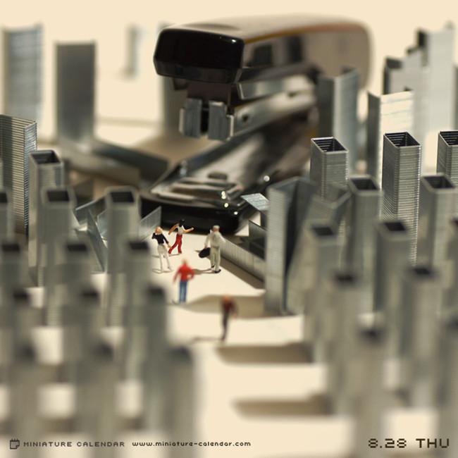 Miniature Calendar Tatsuya Tanaka 11