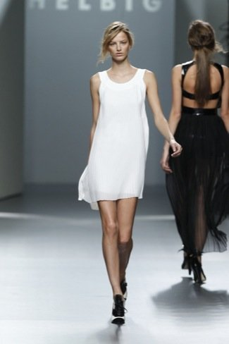 Teresa Helbig little white dress