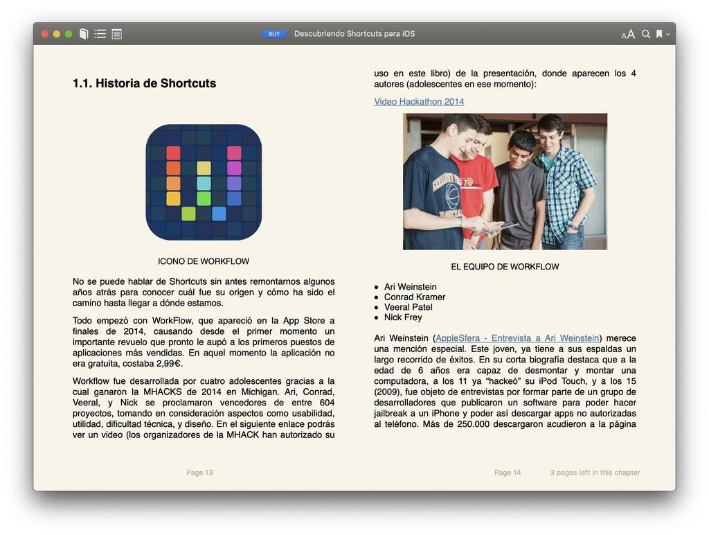 Descubriendo Shortcuts para iOS: un ebook para introducirse al mundo(planeta) de los atajos