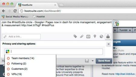 Hootsuite por fin permite administrar páginas de Google+ a todos sus usuarios