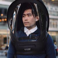 BioVYZR: esta escafandra de aire personal es una completa protección con filtros KN95, anti empañamiento y guantes reversibles