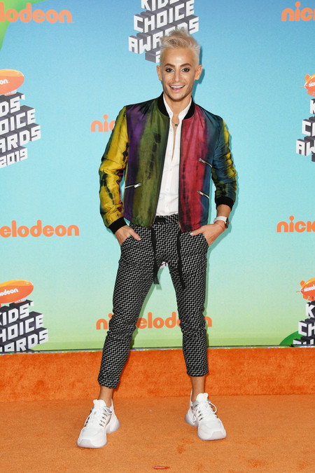 Frankie Grande Nickelodeon S 2019 Kids Choice Awards Arrivals Red Carpet