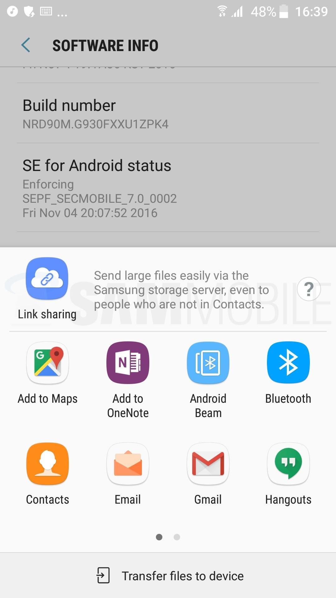 Foto de Capturas Android 7.0 Nougat en el Samsung Galaxy S7 (18/65)