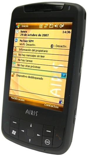Airis T482, teléfono con WM6 y GPS