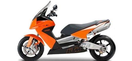 A KTM también le interesa el mercado de los Maxi Scooter