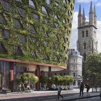 "Citicape House, el hotel ""vegetal"" que ayudará a descontaminar Londres"