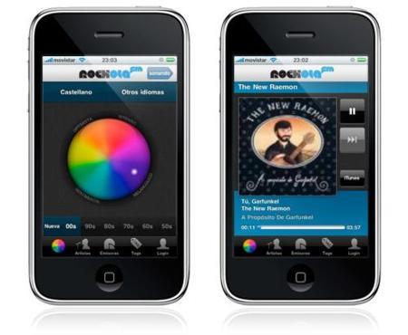 Rockola.fm combina sus dos aplicaciones para iPhone / iPod touch en una nueva, gratuita