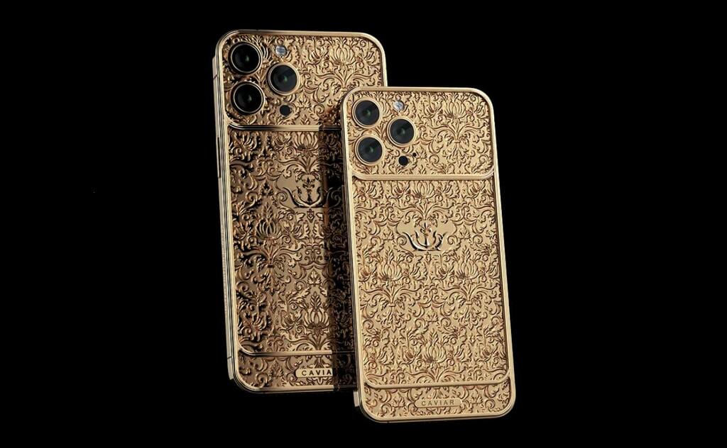 El iPhone 13 Pro Max y el PS5 revestidos de oro puro es lo nuevo de Caviar, y claro que sus precios son de cientos de miles de pesos