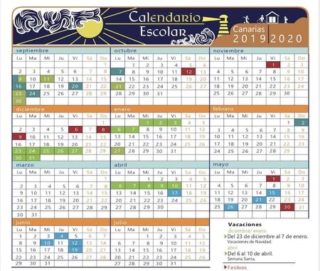 Calendario Escolar 18 19 Cantabria.Calendario Escolar 2019 2020 Que Dia Empiezan Y Terminan