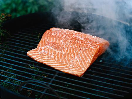 Salmon En Lomo Entero A La Parrilla