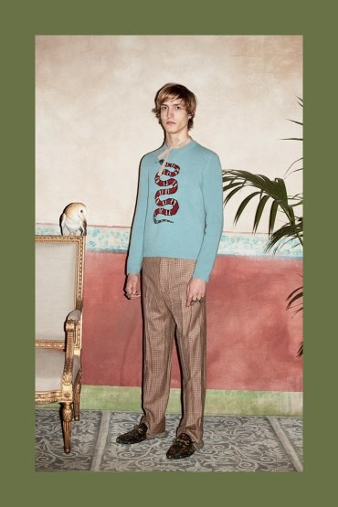 Gucci Mens Pre Fall 2016 Lookbook 024